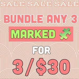 🧩BUNDLE TO SAVE NOW 🛍